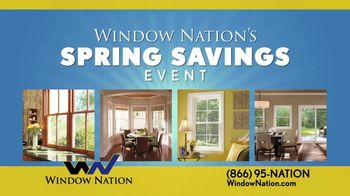 Window Nation Spring Savings Event TV Spot, 'Two Free Windows' - Thumbnail 2
