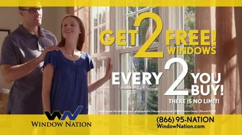 Window Nation Spring Savings Event TV Spot, 'Two Free Windows' - Thumbnail 6
