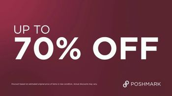 Poshmark TV Spot, 'Overflowing Closet: 70 Percent Off' - Thumbnail 8