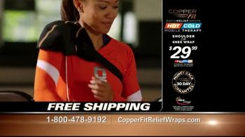 Copper Fit Rapid Relief Wraps TV Spot, 'Targeted Ice or Heat Therapy' - Thumbnail 10