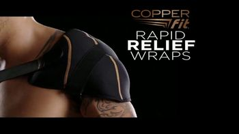 Copper Fit Rapid Relief Wraps TV Spot, 'Targeted Ice or Heat Therapy'