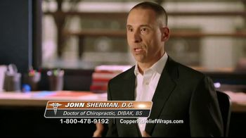 Copper Fit Rapid Relief Wraps TV Spot, 'Targeted Ice or Heat Therapy' - Thumbnail 6