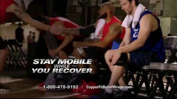 Copper Fit Rapid Relief Wraps TV Spot, 'Targeted Ice or Heat Therapy' - Thumbnail 8