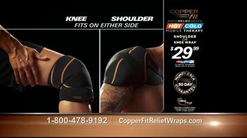 Copper Fit Rapid Relief Wraps TV Spot, 'Targeted Ice or Heat Therapy' - Thumbnail 9