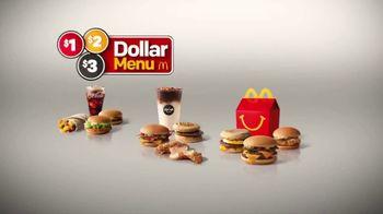 McDonald's $1 $2 $3 Dollar Menu TV Spot, 'For the Bacon Fans' - Thumbnail 2