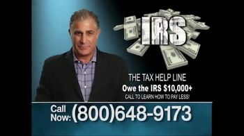 The Tax Helpline TV Spot, 'The IRS Wants Your Money' - Thumbnail 1