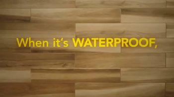 Lumber Liquidators Spring Black Friday Sale TV Spot, 'Waterproof Flooring' - Thumbnail 1