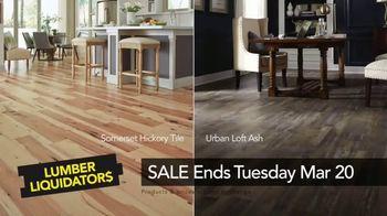 Lumber Liquidators Spring Black Friday Sale TV Spot, 'Waterproof Flooring' - Thumbnail 10