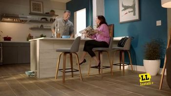 Lumber Liquidators Spring Black Friday Sale TV Spot, 'Waterproof Flooring'