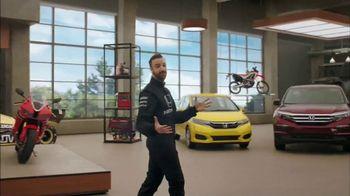 Honda Dream Garage Spring Event TV Spot, 'Big Deal' Feat. James Hinchcliffe