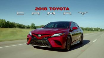 2018 Toyota Camry TV Spot, 'The Thrill Machine' [T1] - Thumbnail 1