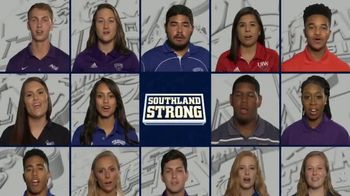 Southland Conference TV Spot, 'Southland Strong PSA' - Thumbnail 8