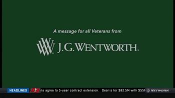 J.G. Wentworth TV Spot, 'Committed to Veterans' - Thumbnail 1