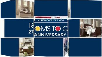 Rooms to Go Anniversary Sale TV Spot, 'Four-Piece Leather Sectionals' - Thumbnail 2