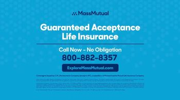 MassMutual Guaranteed Acceptance Life Insurance TV Spot, 'Worthwhile' - Thumbnail 6