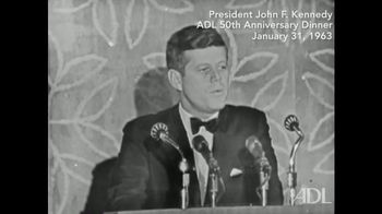 Anti-Defamation League TV Spot, 'JFK' - 2 commercial airings