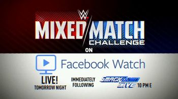 Facebook Watch TV Spot, 'WWE Mixed Match Challenge: Charlotte & Bobby' - Thumbnail 9