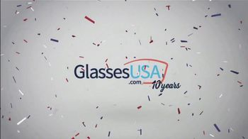 GlassesUSA.com Birthday Bash TV Spot, 'First Pair' - Thumbnail 9