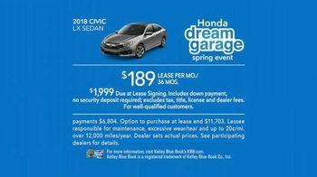 Honda Dream Garage Spring Event TV Spot, 'Sport Mode' [T2] Ft. James Hinchcliffe - Thumbnail 8