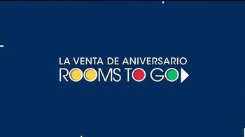 Rooms to Go Venta de Aniversario TV Spot, 'Seccional' [Spanish] - Thumbnail 1