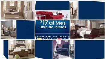 Rooms to Go Venta de Aniversario TV Spot, 'Seccional' [Spanish] - Thumbnail 2
