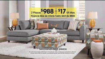Rooms to Go Venta de Aniversario TV Spot, 'Seccional' [Spanish] - Thumbnail 4