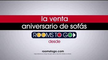 Rooms to Go Venta de Aniversario de Sofás TV Spot, 'Irresistible' [Spanish] - Thumbnail 10