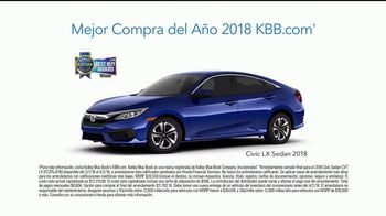 Honda Dream Garage Spring Event TV Spot, 'Service Upgrade' [Spanish] [T2] - Thumbnail 8