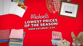 Michaels Lowest Prices of the Season Sale TV Spot, 'It's Back!' - Thumbnail 5