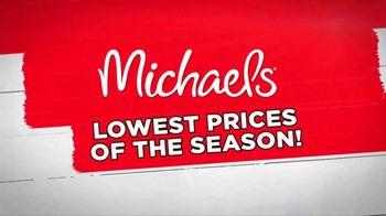 Michaels Lowest Prices of the Season Sale TV Spot, 'It's Back!' - Thumbnail 1