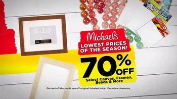 Michaels Lowest Prices of the Season Sale TV Spot, 'It's Back!' - Thumbnail 2