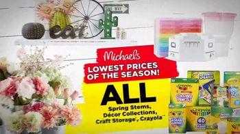 Michaels Lowest Prices of the Season Sale TV Spot, 'It's Back!' - Thumbnail 4