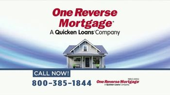 One Reverse Mortgage TV Spot, 'Pay Off Your Mortgage'