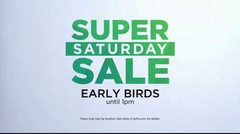 Kohl's Super Saturday Sale TV Spot, 'Tops, Shoes and Towels' - Thumbnail 2