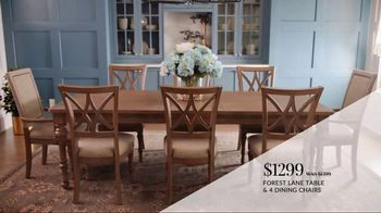 Havertys Spring Savings Event TV Spot, 'Stylish Pieces: Dining Table' - Thumbnail 5