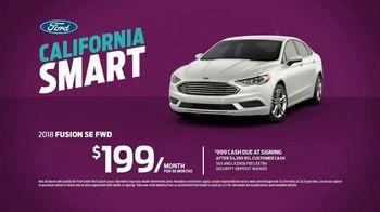 2018 Ford Fusion SE TV Spot, 'Smart Enough for California' [T2] - Thumbnail 8