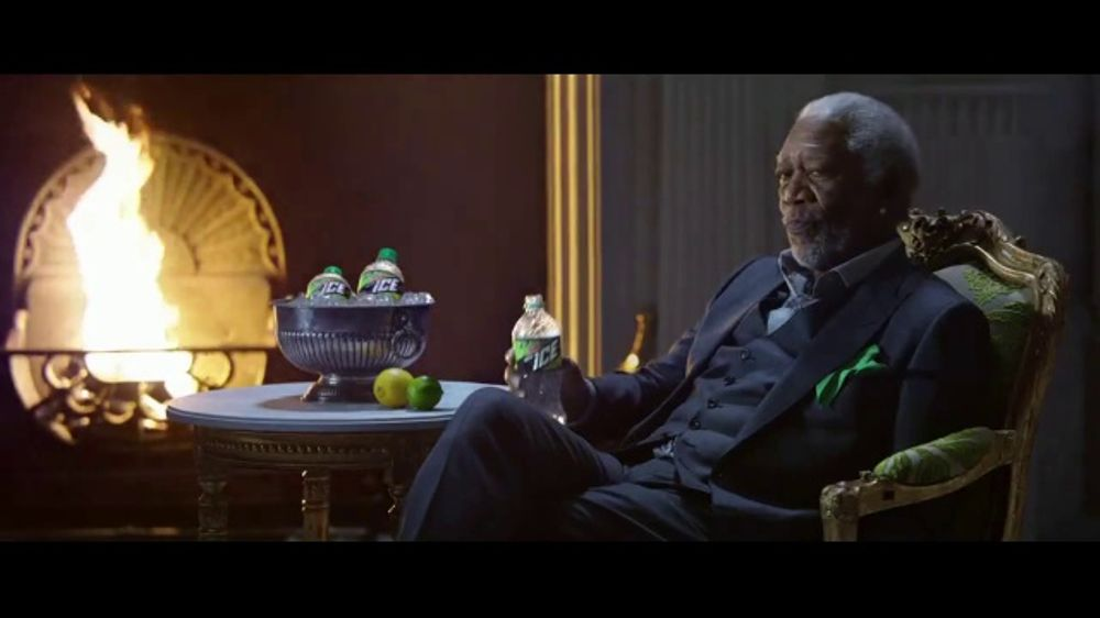 Mountain Dew Ice TV Commercial, 'Fire and Ice' Featuring Morgan Freeman