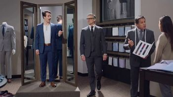 Men's Wearhouse Custom Suits TV Spot, 'Designed by You. Crafted by Us.'