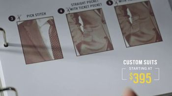 Men's Wearhouse Custom Suits TV Spot, 'Designed by You. Crafted by Us.' - Thumbnail 7