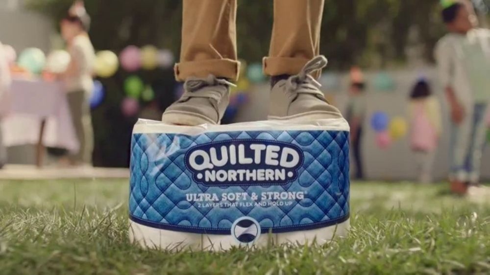 Quilted Northern Tv Commercial Is Not A Bouncy Castle Ispot