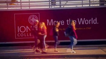 Iona College TV Spot, 'Move the World' - Thumbnail 9