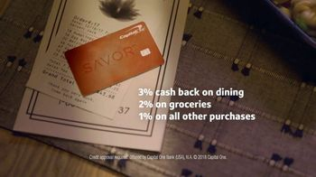 Capital One Savor Card TV Spot, 'Takeout' - Thumbnail 10