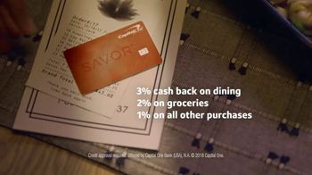Capital One Savor Card TV Spot, 'Takeout' - Thumbnail 9