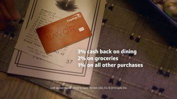 Capital One Savor Card TV Spot, 'Takeout' - Thumbnail 9