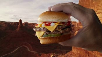 Carl's Jr. Charbroiled Sliders TV Spot, 'Grand Canyon' - Thumbnail 4
