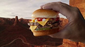 Carl's Jr. Charbroiled Sliders TV Spot, 'Grand Canyon' - 1477 commercial airings