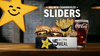 Carl's Jr. Charbroiled Sliders TV Spot, 'Grand Canyon' - Thumbnail 9