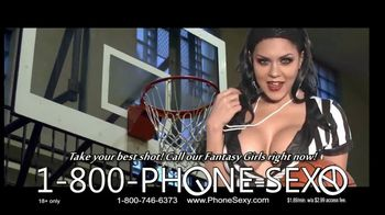 1-800-PHONE-SEXY TV Spot, 'Personal Foul'