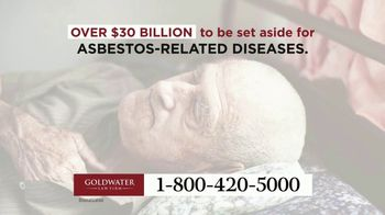 Goldwater Law Firm TV Spot, 'Men With Lung Cancer' - Thumbnail 1