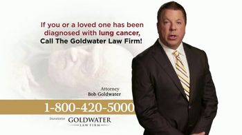 Goldwater Law Firm TV Spot, 'Men With Lung Cancer'